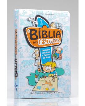 Bíblia das Descobertas | NTLH | Letra Média | Capa Dura | Azul