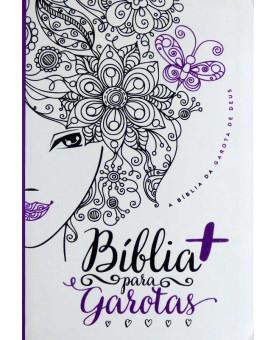 Bíblia + Para Garotas | NTLH | Média | Capa Glitter
