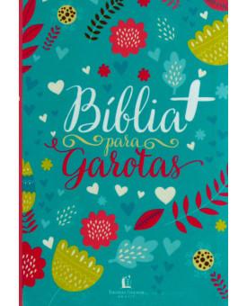 Bíblia Para Garotas | NTLH | Letra Normal | Tecido | Decorada