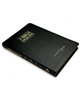 A Bíblia Sagrada | ACF | Letra Grande | Fina | Luxo | índice | Preta