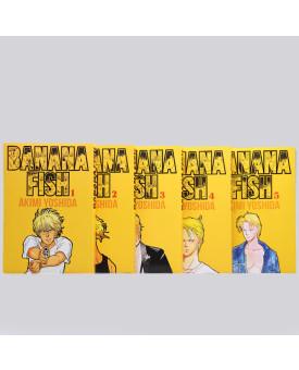 Kit 5 Livros   Banana Fish   Akimi Yoshida