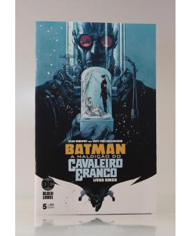Batman: A Maldição do Cavaleiro Branco | Vol.5 | Klaus Janson e Sean Murphy
