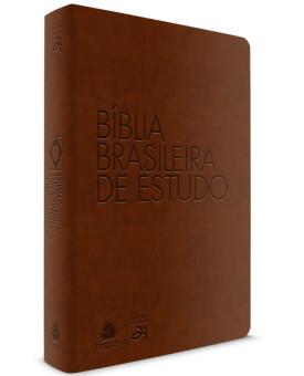 Bíblia Brasileira De Estudo | S21 | Letra Normal | Capa Sintética | Marrom