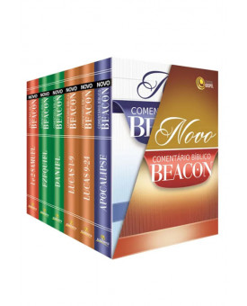 Livro Novo Comentário Bíblico Beacon | Coleção 6 Volumes