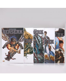 Kit 5 Livros | Berserk