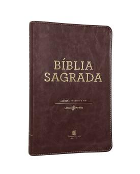Bíblia Sagrada | ACF | Leitura Perfeita | Letra Normal | Couro Soft | Marrom