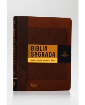 Bíblia Sagrada | NVI | Leitura Perfeita | Letra Normal | Soft Touch | Marrom | Com Espaço Para Anotações