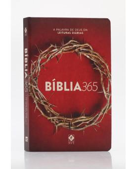 Bíblia 365 | NVT | Letra Normal | Capa Dura | Coroa