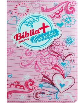 Bíblia + Para Garotas | NTLH | Letra Normal | Emborrachada | Rosa