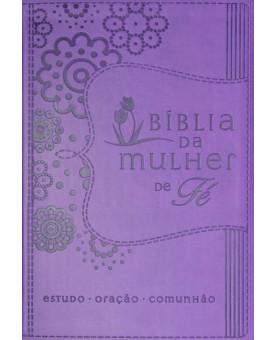 Bíblia NVI | Mulher de Fé Sheila Walsh | Média | Emborrachada | Roxa