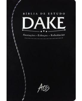 Bíblia De Estudo Dake | RC | Luxo