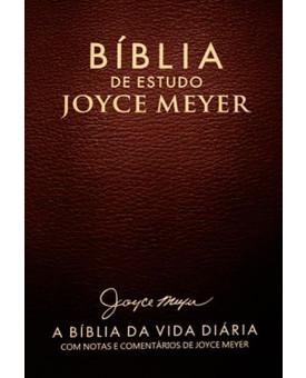 Bíblia De Estudo | Joyce Meyer | NVI | Média | Letra Grande | Café