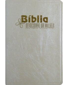 Bíblia NVI Devocional da Mulher | Média Comum | Pérola