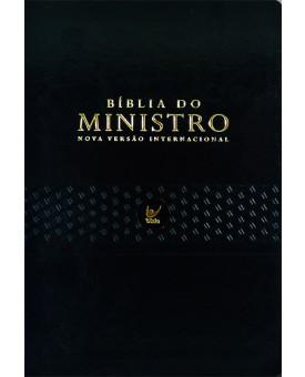 Bíblia Do Ministro | Nova Versão Internacional | Luxo | Preta