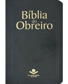 Bíblia do Obreiro | RC | Letra Grande | Capa Sintética | Preta
