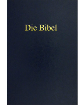 Bíblia em Alemão - Capa Dura - Azul