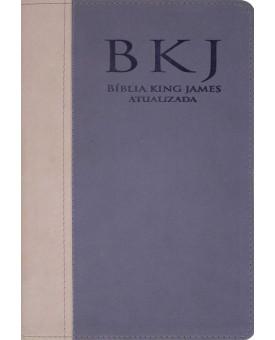 Bíblia King James | Revista e Atualizada | Rosa/Lilás