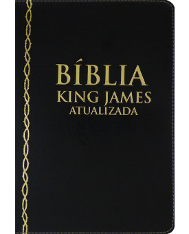 Bíblia | King James Atualizada | Letra Grande | Luxo | Preta