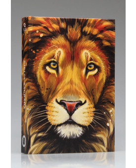 Bíblia Sagrada | NAA | Letra Grande | Capa Dura | Leão de Juda