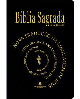 Bíblia Sagrada   NTLH   Letra Grande   Luxo   Preta