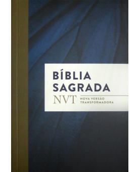 Bíblia Sagrada | NVT | Letra Normal | Brochura | Azul Marinho