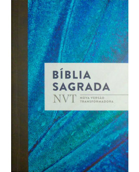 Bíblia Sagrada | Brochura | Comum | Azul Clara | NVT
