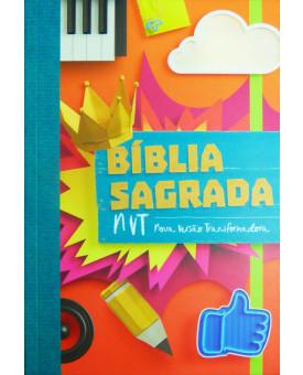 Bíblia NVT Brochura | Colege | Comum