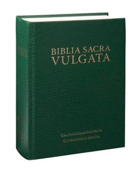 Biblia Sacra Vulgata | SBB | Letra Normal | Capa Dura | Verde
