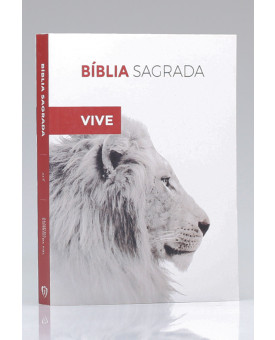 Bíblia Para Evangelismo Premium | ACF | Letra Média | Capa Brochura | Ele Vive