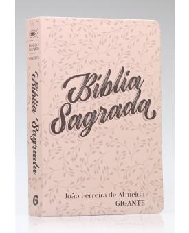 Bíblia Sagrada | RC | Letra Gigante | Com Mapas | Capa Dura | Especial Floral