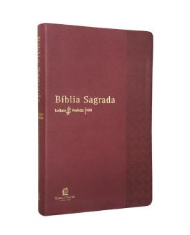 Bíblia Sagrada | NVI | Letra Normal | Couro Soft | Vermelha