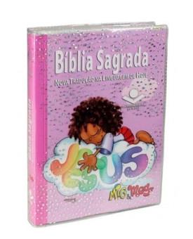 Bíblia Sagrada   NTLH   Brochura   Letra Normal   Mig e Meg   Feminina