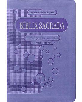 Bíblia Sagrada – NTLH – Letra Grande – Compacta - Violeta – Luxo