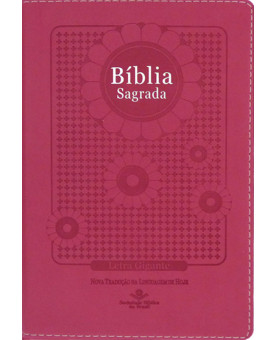 Bíblia Sagrada | NTLH | Letra Gigante | Luxo | Pink Flower