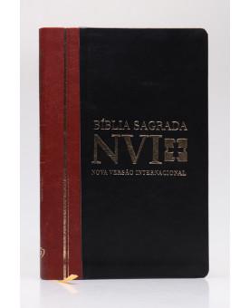 Bíblia Sagrada | NVI | Letra Grande | Capa PU | Duotone | Slim
