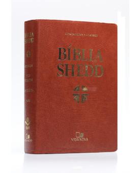 Bíblia Shedd | RA | Letra Normal | Covertex | Marrom
