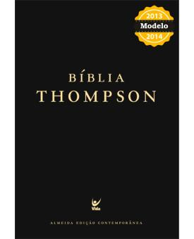 Bíblia de Estudo Thompson - Almeida Contemporânea - Luxo - Preta - Indice