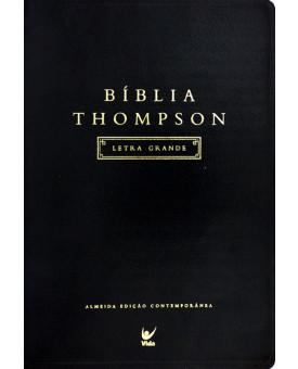 Bíblia de Estudo Thompson | Almeida Contemporânea | Preta