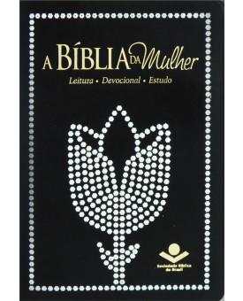 Bíblia da Mulher | RC | Letra Normal | Luxo | Preta