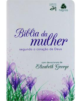 Bíblia Da Mulher | Segundo O Coração De Deus | Tulipa Roxa