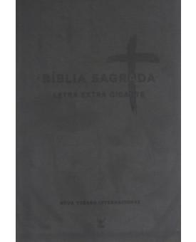 Bíblia Sagrada Preta NVI | Letra  Extra Gigante | Editora Vida
