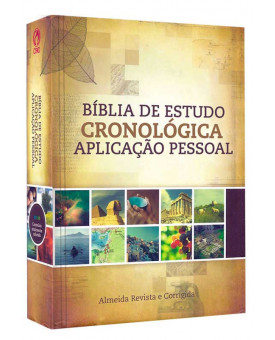 Bíblia De Estudo | Cronológica | Capa Dura