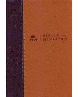 Bíblia do Ministro| Marrom Claro e Escuro | NVI