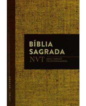Bíblia Sagrada | NVT | Letra Grande | Juta | Capa Dura