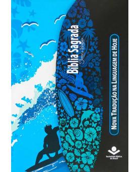 Bíblia Sagrada | NTLH | Fonte De Bençãos | Letra Maior | Media | Capa Dura | Surf
