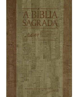 Bíblia Sagrada | ACF | Letra Gigante | Luxo | Madeira