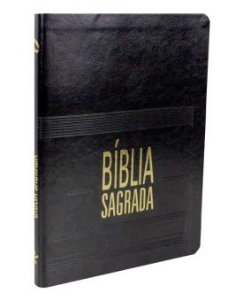 Bíblia Sagrada | NAA | Letra Grande | Capa Luxo | Preta