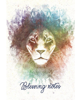 Blessing Notes | Leão | Aquarela | Brasil