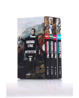 Box 4 Livros   Guerra e paz   Edição Bolso   Leon Tolstói