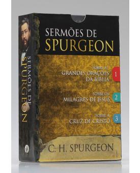 Box 3 Livros   Sermões de Spurgeon   C. H. Spurgeon